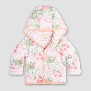 Burt's Bees Baby Organic Hooded Reversible Jacket